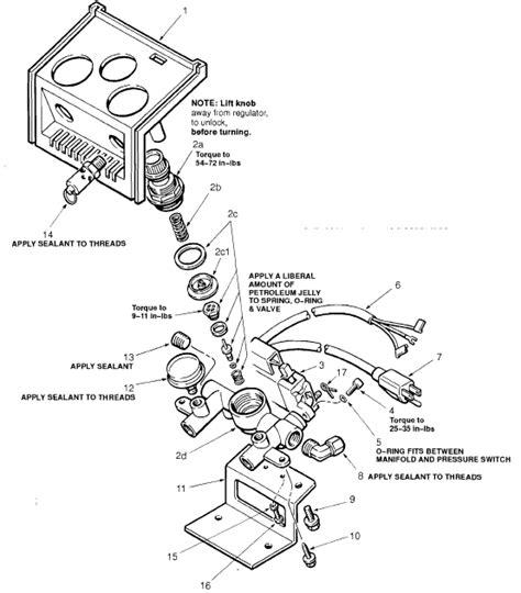 sanborn regulator parts  older oil  air compressors