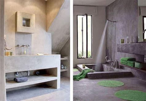Modern Sleek Design by Cool Concrete Bathrooms Sa D 233 Cor Amp Design Blog