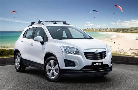 trax holden 2015 holden trax active edition now on sale in australia