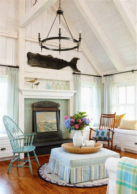 nantucket home decor new england nautical style living rooms completely coastal