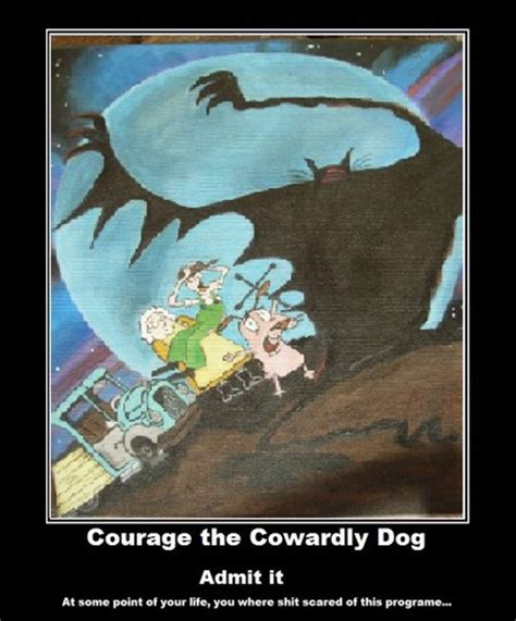 courage the cowardly scary courage the cowardly images scary show hd wallpaper and background photos 33357250
