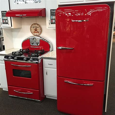 retro kitchen appliance comeaux furniture appliance carries retro styles