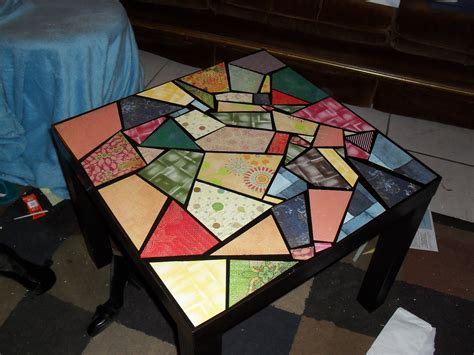 How To Decoupage A Table - decoupage points for creativity