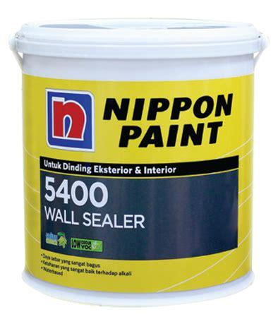 Sealer Pelapis Cat jual cat dan pelapis nippon sealer 5400 harga murah jakarta oleh sumber jaya paint brothers