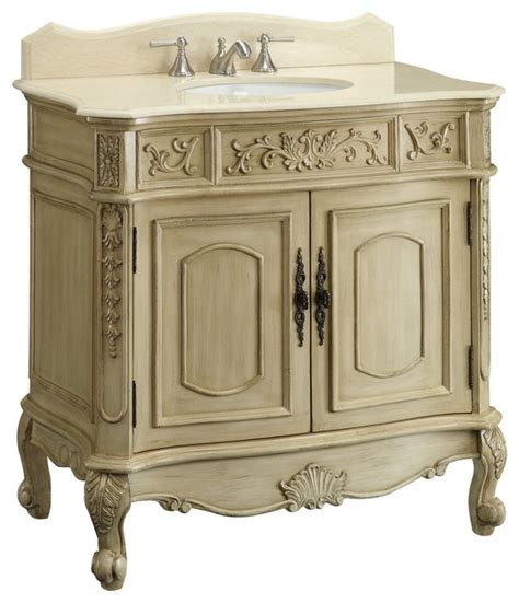 Antique White Bathroom Vanities by 36 Quot Antique White Belleville Bathroom Sink Vanity