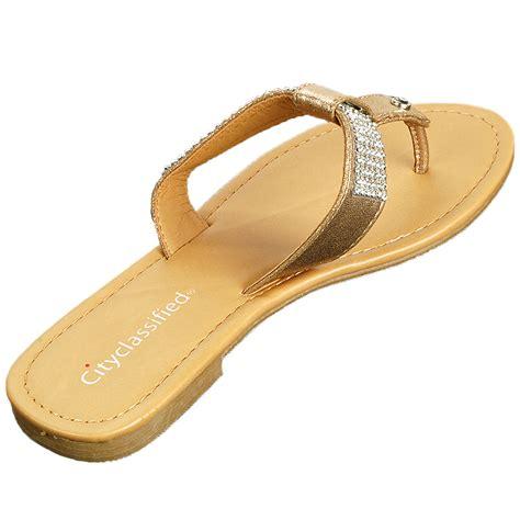 rhinestones sandals s rhinestone sandals t thongs slip on flats