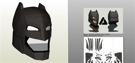 Topeng Batman Mask Vs Superman batman pepakura pdo pictures to pin on pinsdaddy