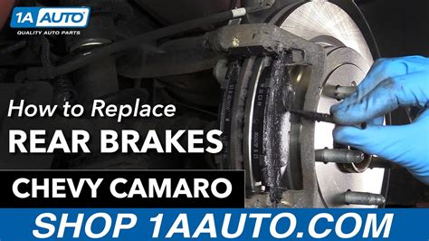 installation si鑒e auto trottine how to replace install rear brakes 2010 14 chevy camaro