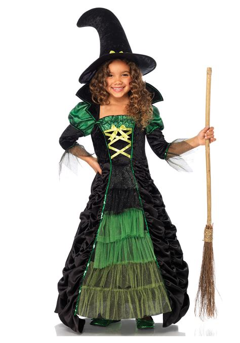 halloween costumes storybook witch child costume