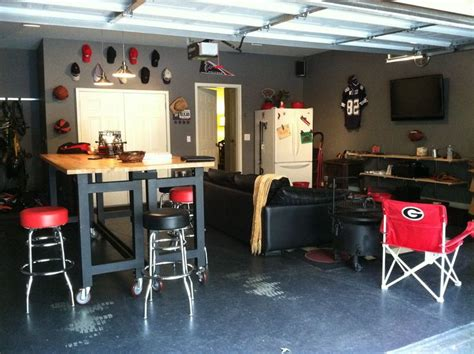 bar in garage sports bar rooms cave