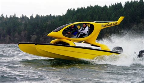 single engine catamaran for sale helicat22 at miami boat show twin engine catamaran is
