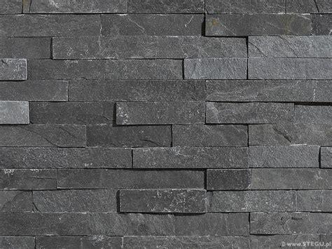 schwarzer naturstein naturstein grey 187 dekorativer naturstein 187 baubay
