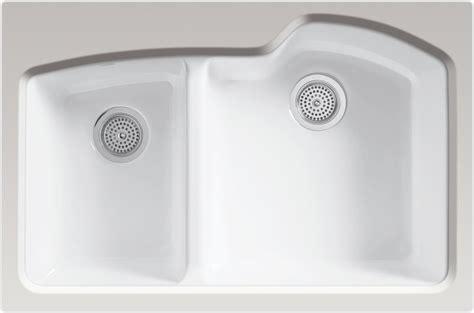 Kohler Cast Iron Kitchen Sink Cleaner Kohler Enameled Cast Iron Sink Cleaner