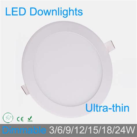 Lu Downlight 18 W 3w 4w 6w 9w 12w 15w 18w 24w dimmable led grid downlight