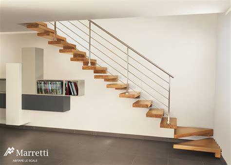 interno it scale a sbalzo aperte in legno per interni marretti