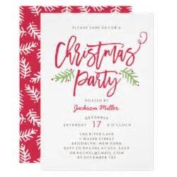Ugly Christmas Sweater Party Invite - christmas party invitations zazzle