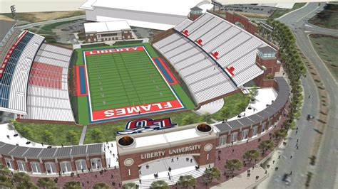 liberty university announces plans to build indoor lu s williams stadium to expand seating to 25 000 wset