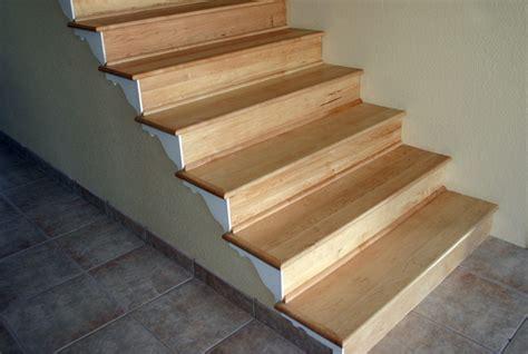 hardwood floor stair treads maple stair treads and risers esl hardwood floors