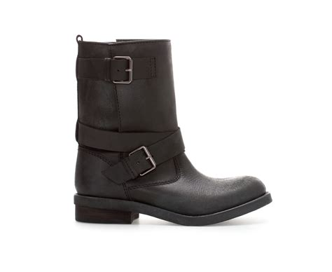 black leather biker boots shoeniverse biker boot alert zara black leather biker