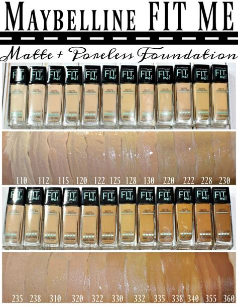 Mascara Dan Eyeliner Maybelline maybelline 174 fit me 174 matte poreless foundation powder