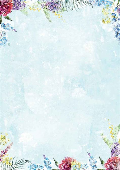 design background a4 beautiful flowers background paper double printed a4