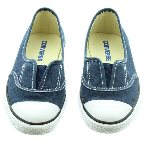 Converse Slop Navy converse cove slip on shoes in navy in navy