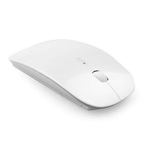 Mouse Ultra Slim Usb Wireless For Laptop Computer white wireless mouse ultra slim fast 2 4ghz usb for mac