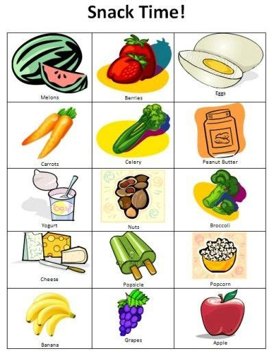 7 Safe Ideas For School Snack Time by Taming The Snack Time Woes Free Printable Snacks Chart