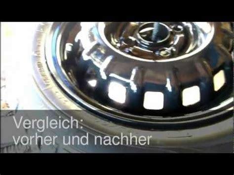 Felgen Lackieren Ohne Abmontieren by Berner Politur Fahrzeugaufbereitung Polieren Leicht