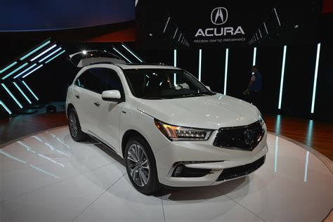 2017 acura mdx breaks the norm with 3 motor sport hybrid