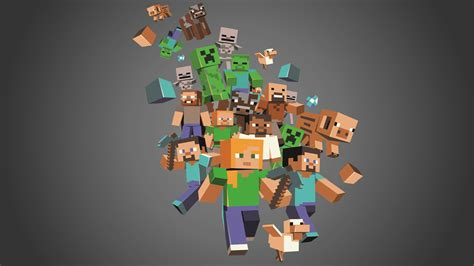 wallpaper craft 1366x768 minecraft full hd wallpaper and background image