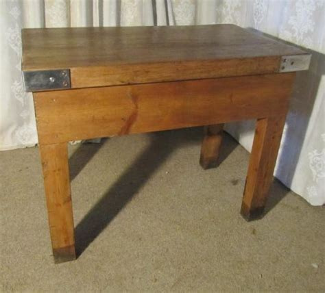 Kitchen Island Cutting Table by Large Butchers Cutting Table Chopping Block Kitchen Island