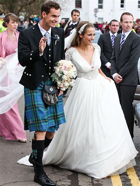 andy murray wedding andy murray and kim sears wedding people com