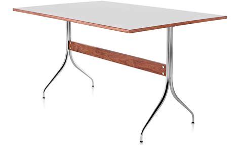 nelson swag leg desk nelson swag leg rectangular work hivemodern com