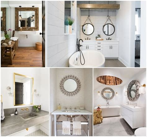 bathroom mirror styles amazing interior design