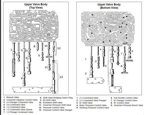 700r4 valve diagram d 722 kubota fuel system d free engine image for user