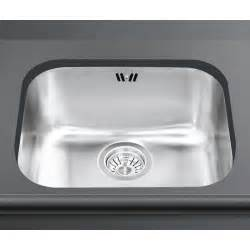 Smeg Kitchen Sinks Smeg Um50 Undermounted Kitchen Sink Single Bowl Brushed Stainless S
