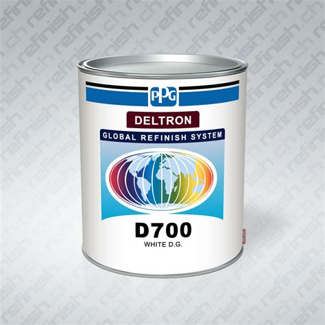 ppg deltron d700 white 3 5lt direct gloss ppg automotive paint global autopaint