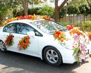 Car Decoration Lights Price India Wedding Car Decoration In Gurgaon Delhi Noida Floral Car
