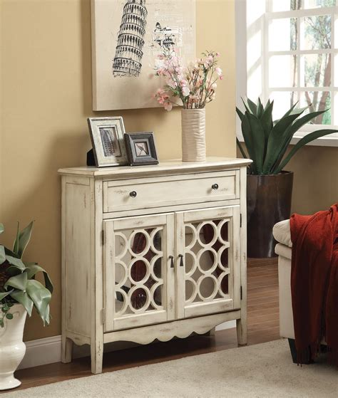 accent cabinet with shelves accent cabinets antiqued white finish accent cabinet with