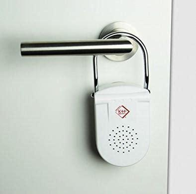 allarme porta allarme su maniglia porta