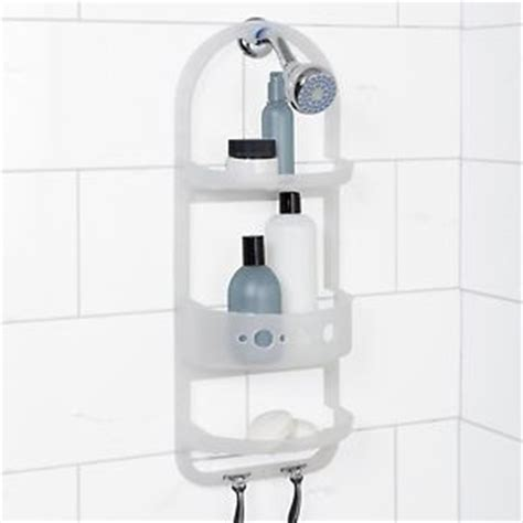 Bathroom Shower Caddy Rust Proof Rust Proof Plastic Bathroom Shower Caddy Shoo Soap Shelf Rack Organizer Hook Ebay