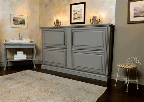 credenza hide a bed murphy beds shirley stone northshorist real estate