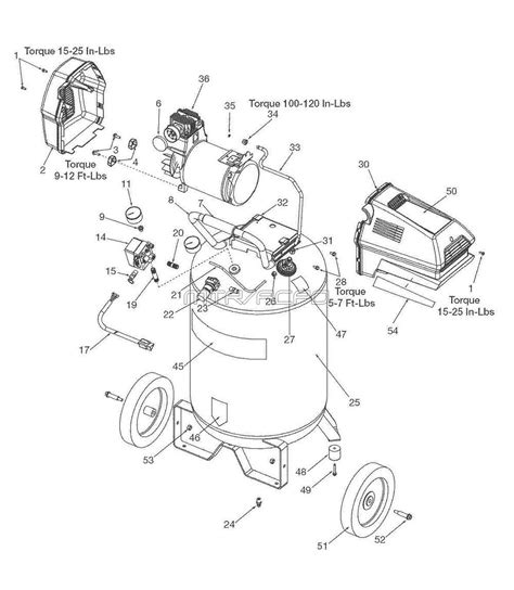 craftsman air compressor wiring diagram sears craftsman 919 167312 air compressor parts