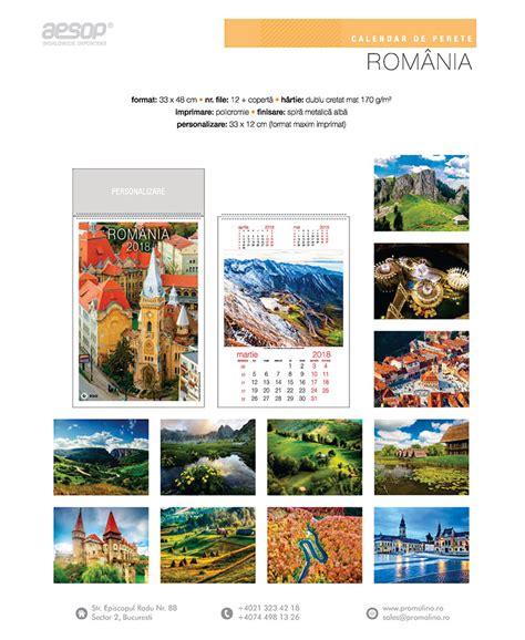 Calendar 2018 Ro Calendare De Perete 2018 Calendare Ego Calendare Import