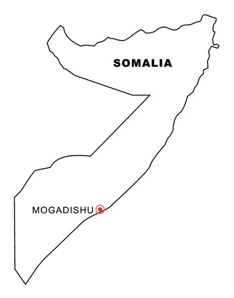 free coloring pages of flag of somalia