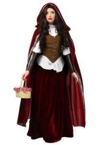 Haloween Costumes Deluxe Red Riding Hood Plus Size Costume
