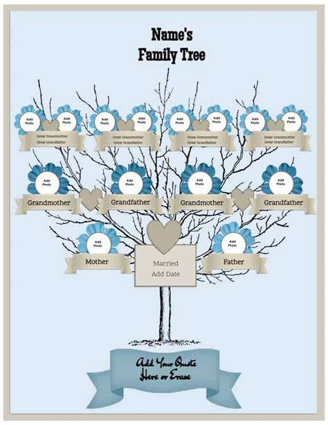 make a free family tree pictures reference