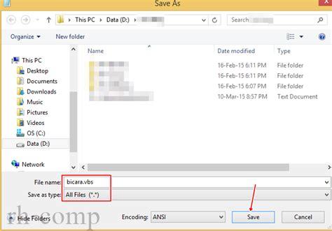 membuat html melalui notepad cara membuat komputer berbicara dengan notepad rh comp