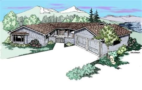 house plans northwest style northwest style house plans 2658 square foot home 1 story 3 bedroom and 3 bath 2